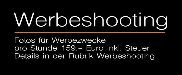 Angebote: Werbeshooting + Werbeshootings - Professionelle Fotos für Ihr Unternehmen